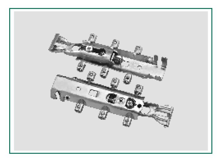 فیتینگ قابل ریگلاژ مدل اچ 4